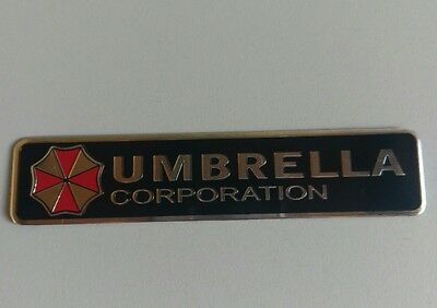 Metallklebeschild Umbrella Corporation Resident Evil (GRC76)