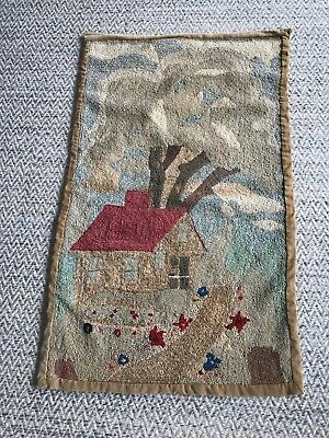 Folk Art Hand Made Wall Hanging Vintage c.1926