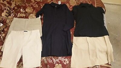 Girls school uniform size 14, with tags.