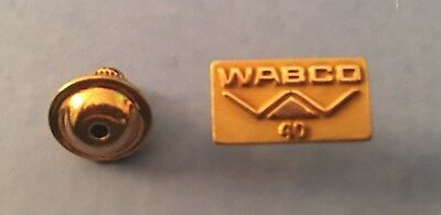 WABCO WESTINGHOUSE AIR BRAKES  GOLD FILLED 40 YEAR EMPLOYEE AWARD PIN Mint