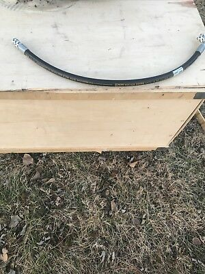 "New Parker Hydraulic Hose Assembly 5/8"" X 36"" Tough Cover"
