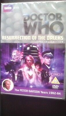 Doctor Who Resurrection Of The Daleks Special Edition BBC 2 Disc DVD New Sealed