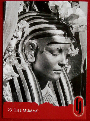 HAMMER HORROR - Series Two - Card #23 - The Mummy - Strictly Ink 2010