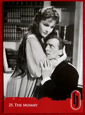 HAMMER HORROR - Series Two - Card #25 - The Mummy - Strictly Ink 2010