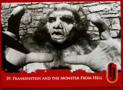 HAMMER HORROR - Series Two - FRANKENSTEIN AND THE MONSTER FROM HELL - Card #39