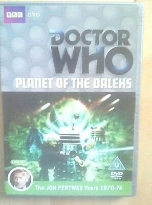 Doctor Who Planet of the Daleks Jon Pertwee TV Sci-fi BBC 2 Disc DVD