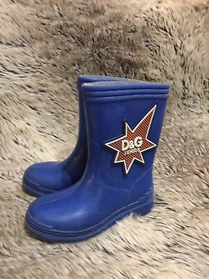 Dolce and Gabbana Junior , toddler rain boots. Size 24 (US 7)