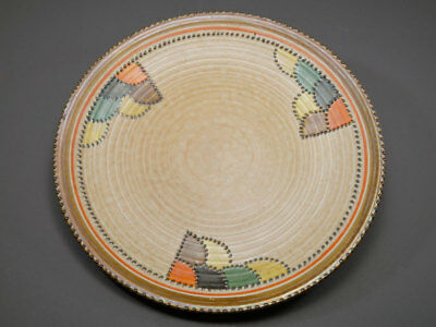 Charlotte Rhead Crow Ducal Patch 4088 Charger Platter Antique