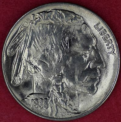 1938-D/D Buffalo Nickel Choice UNC #r