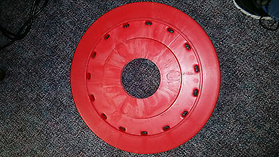 """Nylogrit 19"""" shower feed rotary long trim pad scrubber 30340 5"""""""