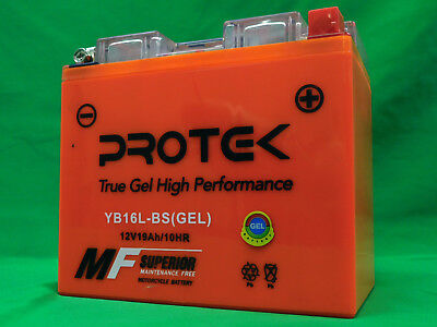 YB16L-B YB16L-BS Motorcycle 12V AGM GEL Battery Factory Actived 19Ah ATV PWC UTV