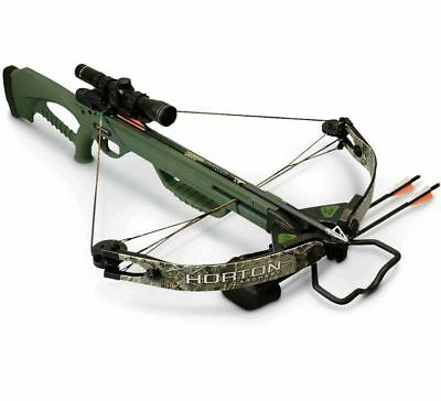 BRAND NEW HORTON Brotherhood Crossbow (Black Model) Like Barnett Bone  Collector