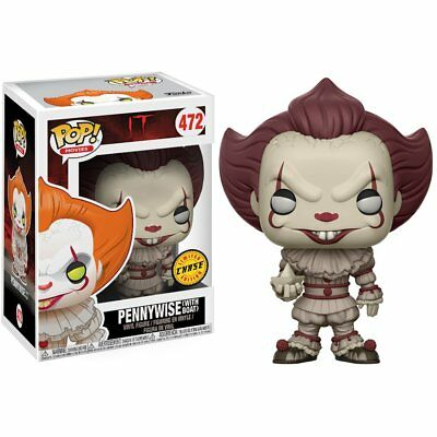 Funko POP - Movies - Horror - IT - 472 Pennywise Boat Barca Chase