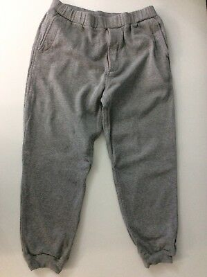 Maharishi Mhi Boys Tracksuit Bottoms, Size Age 14 Years, Grey, GC