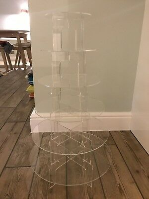 7 Tier Perspex Cake Stand