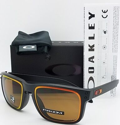 b5fb3c6abf NEW Oakley Holbrook sunglasses Black Prizm Bronze 9244-38 AUTHENTIC Asian  oo9244