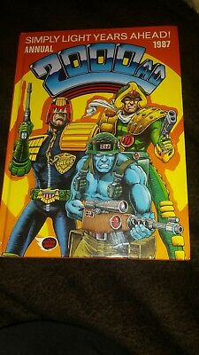 2000 AD ANNUAL 1987 - unclipped and in very good condition