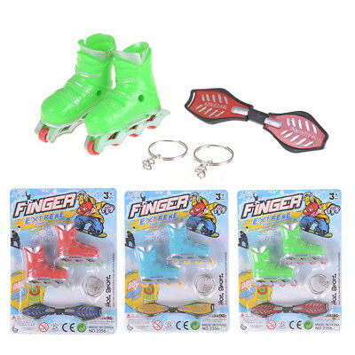 Finger Roller Skates toy Finger Skateboard Sport Games Kids Gift *St