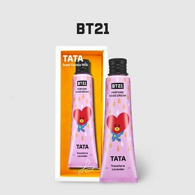 Bts X Olive Young / Bt21 Official Perfume Hand Cream - Tata