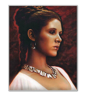 Star Wars Princess Leia A New Hope Carrie Fisher Giclee Art Print Poster