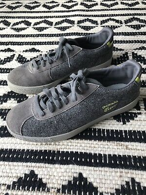 Onitsuka Tiger Mens Sneakers Size 8 Gray Skater Shoes Size 8
