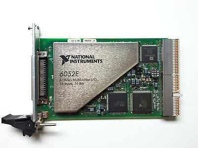 National Instruments NI PXI-6052E 16 Input 16 Bits Multifunction I/O Card
