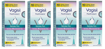 Vagisil Prohydrate Natural Feel Internal Vaginal Gel & Lubricant, 32 Applicators