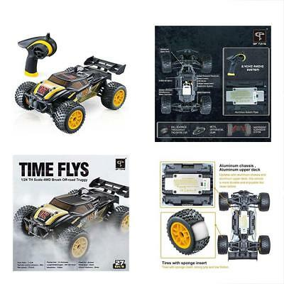 GPTOYS RC Trucks Cars High Speed Remote Control - 1/24 Scale 4WD Hobby Off Road