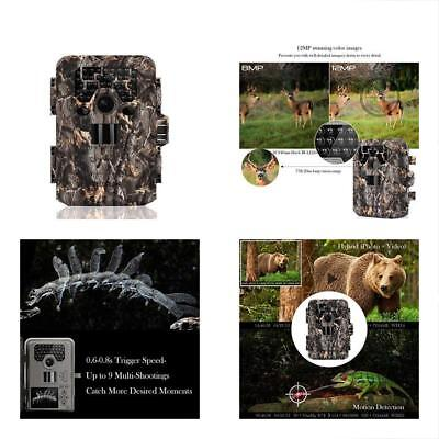 TEC.BEAN Trail Game & Cameras Camera 12MP 1080P Full HD Hunting With 36pcs 940nm