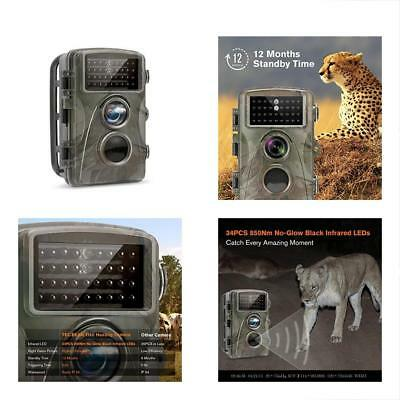 TEC.BEAN Trail Game & Cameras Camera 12MP 1080P 2.3 Inch LCD Screen Full HD LEDs