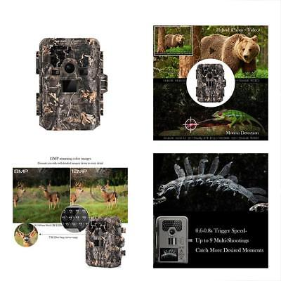TEC.BEAN Game & Trail Cameras Hunting Camera, 12MP 1080P Full HD No Glow With Up