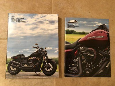 2019 Harley Davidson Parts Accessories Catalog & Screaming Eagle Brochure - New