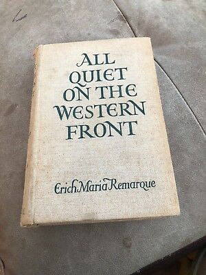 Rare Book All Quiet On The Western Front