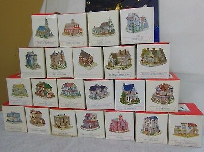 Liberty Falls Americana Collection Lot of 22  dated from 1993-2001