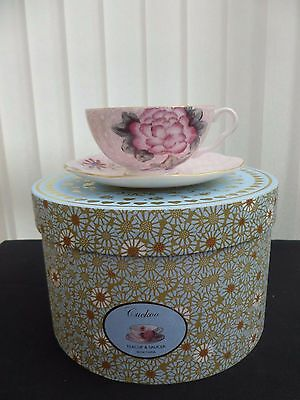 Wedgwood Cuckoo Tea Story Cup & Saucer Pink First Quality Brand New Unused Boxed