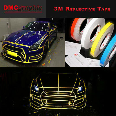3M Grade Light Reflective High Visibility Self Adhesive Tape Automotive Vinyl