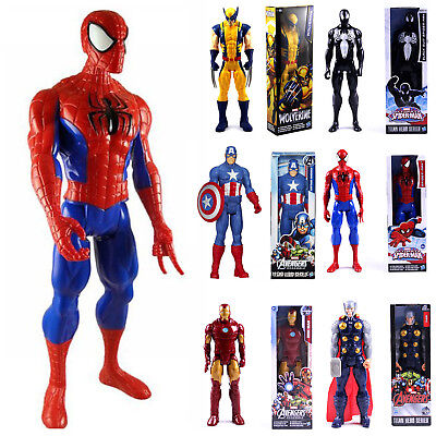 30cm Marvel The Avengers Superheld Spiderman Action Figur Figuren Spielzeug Toy