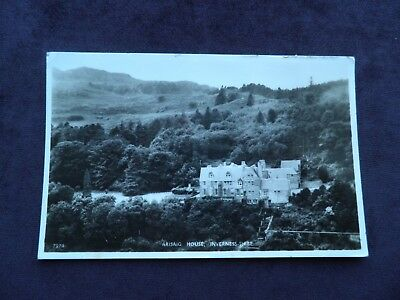 1980s Real Photograph Scottish Postcard of Arisaig House, Inverness-shire