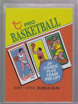 2018 Topps 80th Anniversary Wrapper Art Card #99 - 1980 Basketball PR 257