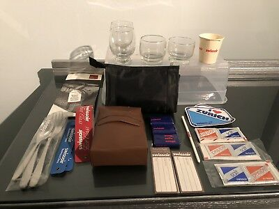 Lot of Vintage SwissAir Airlines Memorabilia/Collectibles - 24 Items
