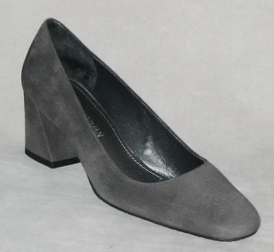 0cbb92a7097f Stuart Weitzman MARYMID Pump Shoes Made In Spain Women 9 Gray MSRP  375 NEW