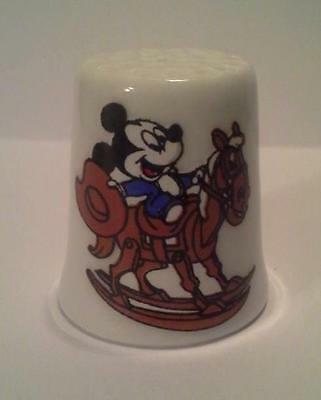 Super Nice Baby Mickey Mouse Collectible Porcelain Thimble