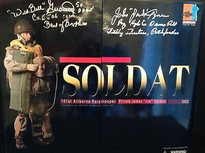 "DRAGON 1/6 SCALE FIGURE WWII 101st AIRBORNE PARATROOPER ""PVT. 'JIM' GORDON"" NIB!"