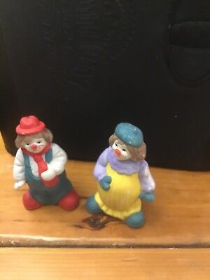 Set Of Clowns Salt And Pepper Shakes