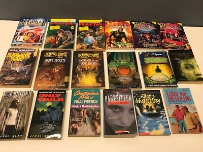 Lot Of 12 Christopher Pike Spooksville Series 1 To 12 The Hidden