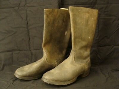 German Ww2 Mint Never Issued 100% Original 1944 Dated Combat Marching Boots