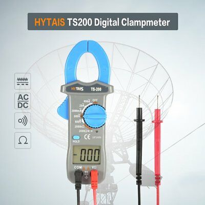 HYTAIS Pocket Handheld Digital Clamp Multimeter DC Tester TS200 600V LOT OA