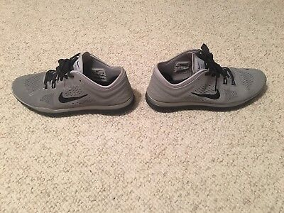 e496967dda1b05 Womens NIKE Free TR Fit 4 Reflect Silver Black Gray Running Training Shoes  Sz