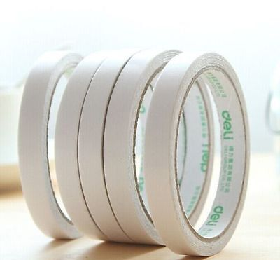 5 Rolls of 6mm Double Sided Super Strong Adhesive Tape for DIY Craft Brand New