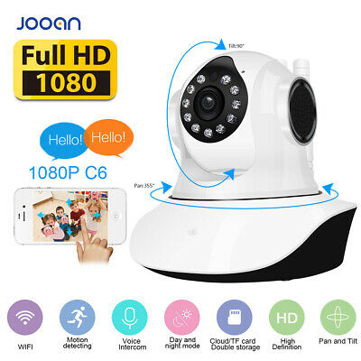 JOOAN Wi-Fi Wireless 720P HD Home Security IP Camera CCTV IR Night Baby Monitor